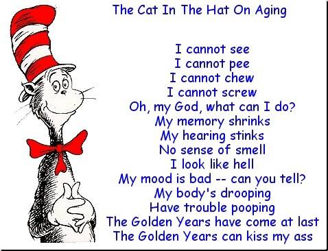 The Cat Hat Aging