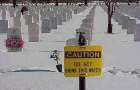 CAUTION Donot drink this water