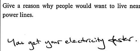 funny exam answers - 21