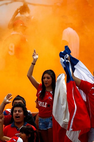 Chile sexy fans