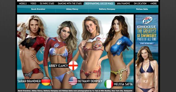 SI World Cup wags