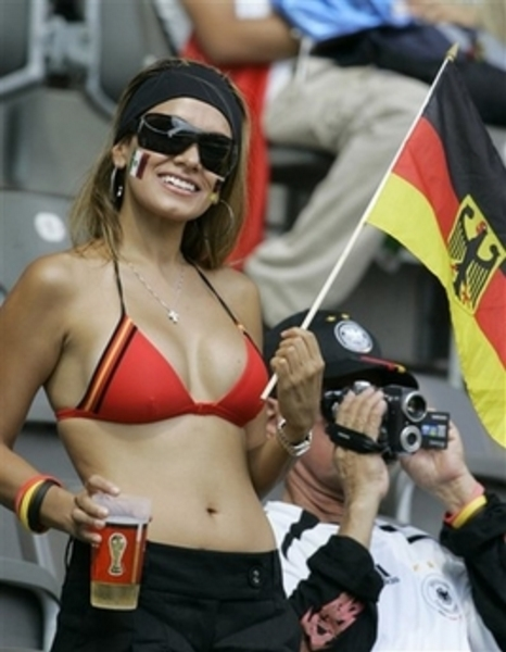 Sexy -germany -soccer fan1