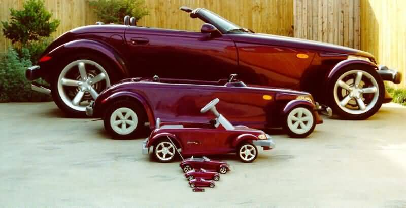 cars of different sizes-father's day